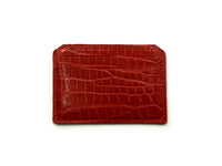 CARD HOLDER SHINY RED