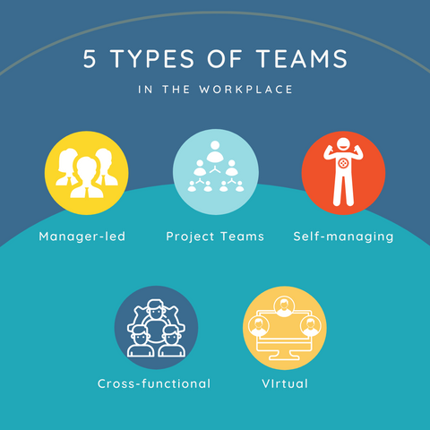 Different types of teams