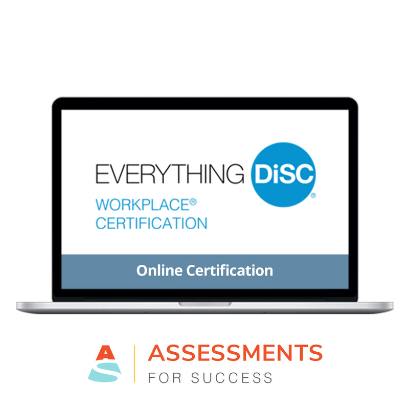 Everything DiSC Workplace® Certification Online