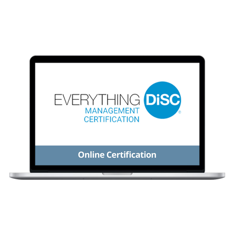 Everything DiSC Management Certification Online