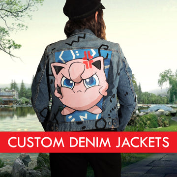 jiggly puff custom denim