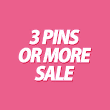 3 or more pin set sale