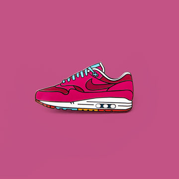 Burgundy Cherrywood x Nike Air Max 1