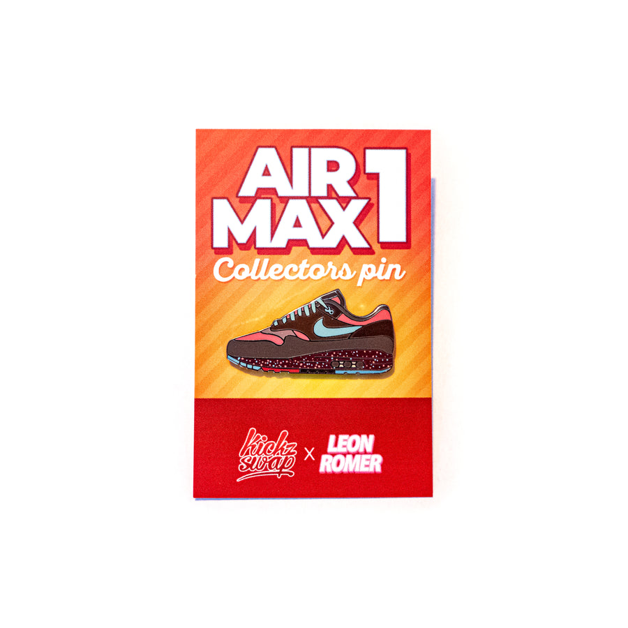 limited nike airmax one amsterdam parra edition pin