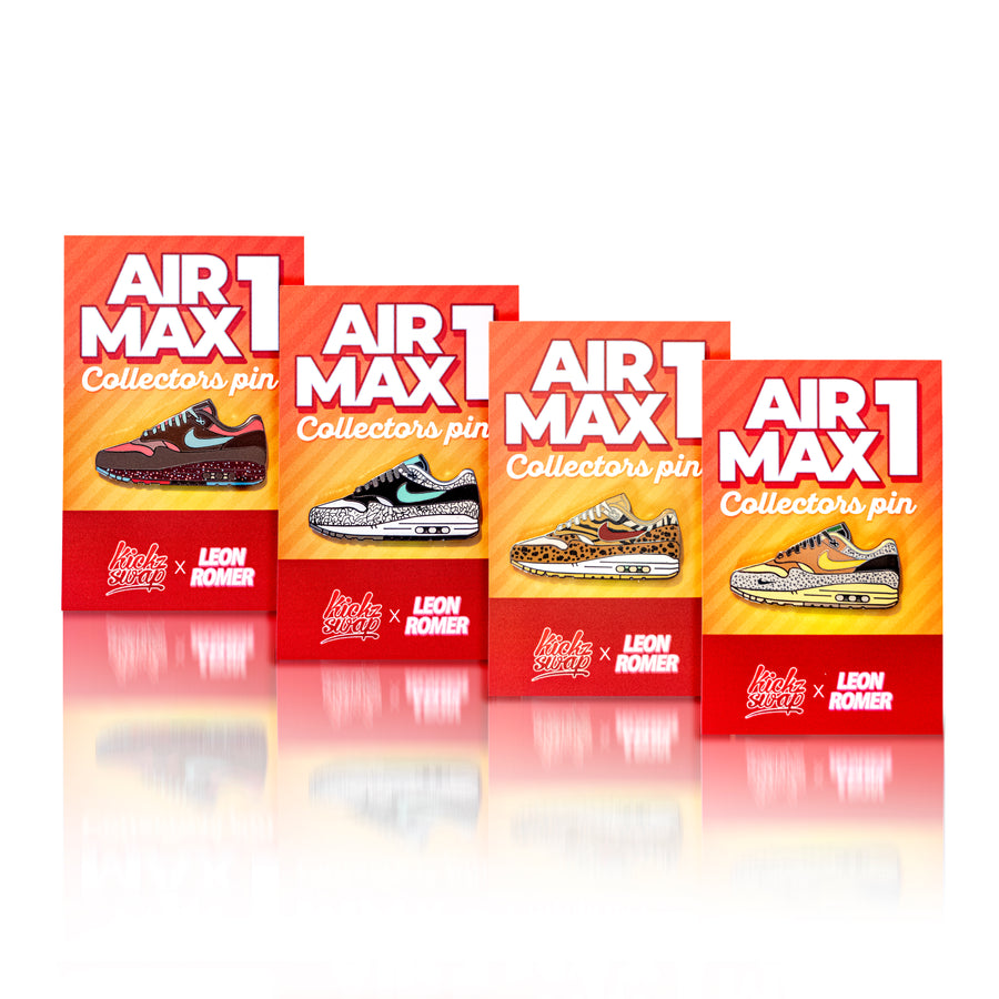 air max collection pins