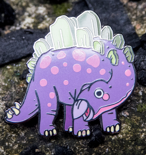 stegosaurus hat pin