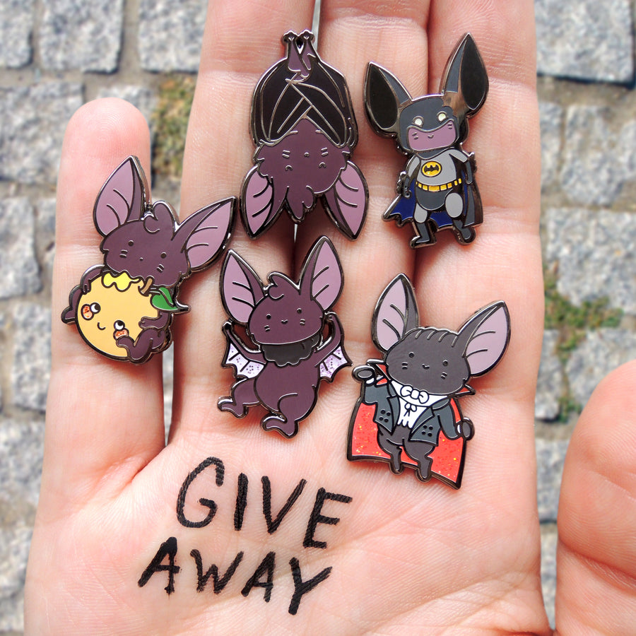 bat pin set