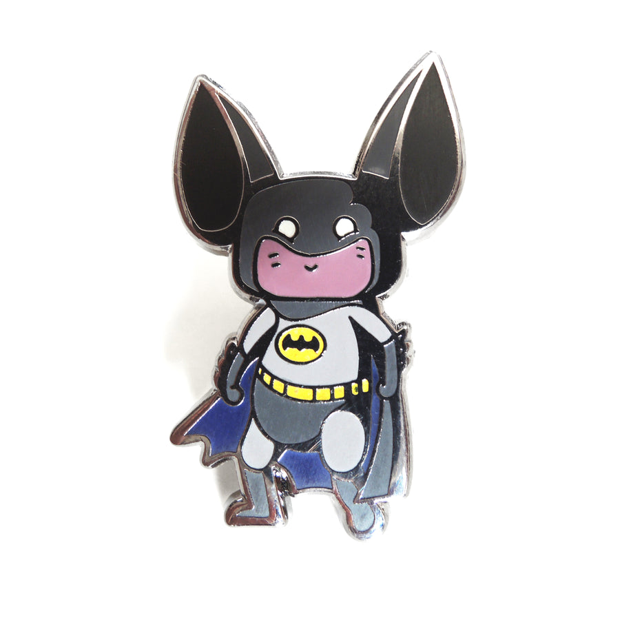 batman hat pin