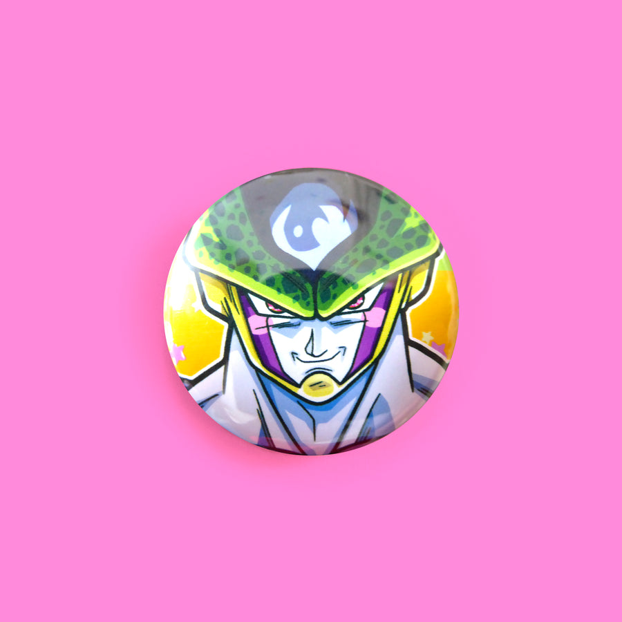 round cartoon button