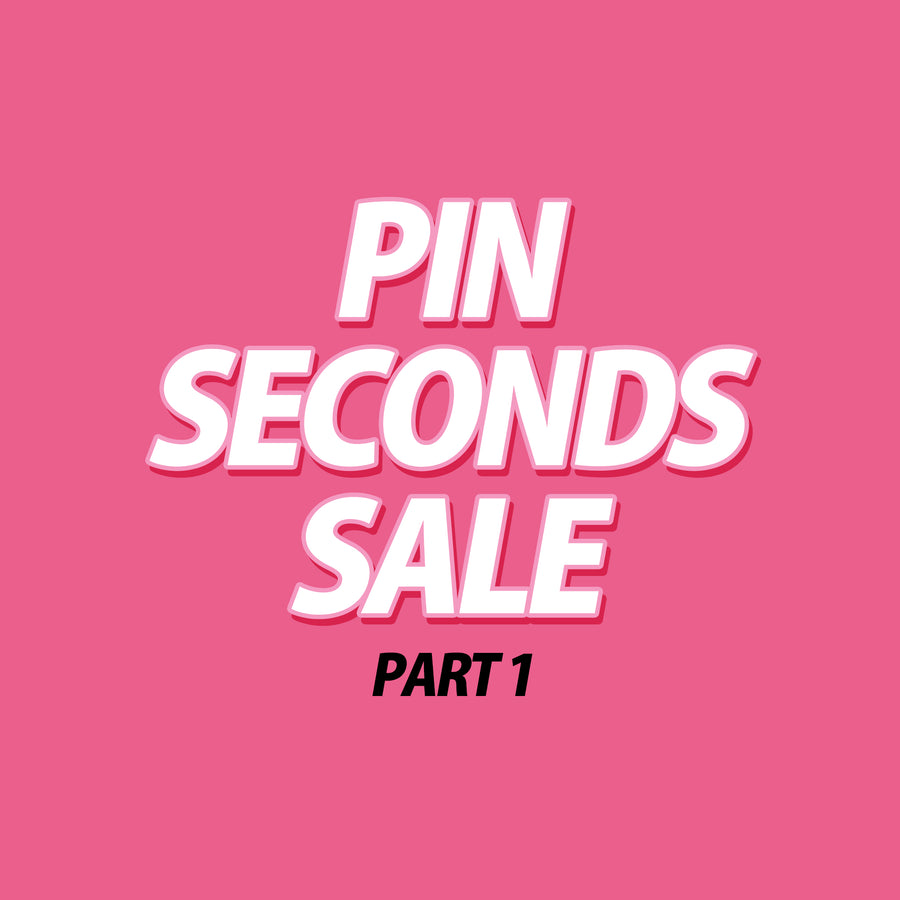pin second sale part 1