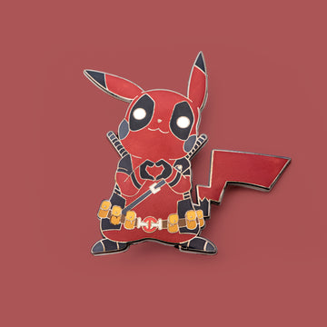 deadpikapool hard enamel pin