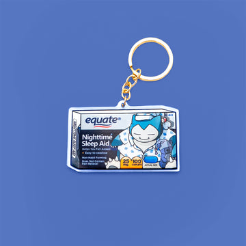 Sleeping Pills Acrylic Keychain