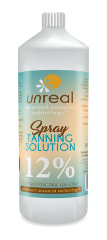 Unreal Professional Spray Tanning Solution (free Shipping) - Unreal Sunless Tanning