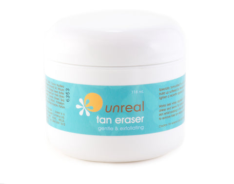Unreal Fake Tan Remover - Unreal Tan Eraser Gel - Unreal Sunless Tanning