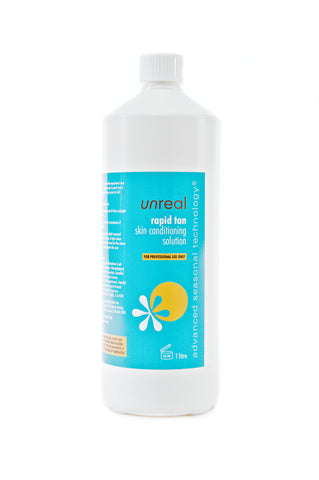 Unreal Professional Rapid Tanning Spray Tan Liquid - Unreal Sunless Tanning