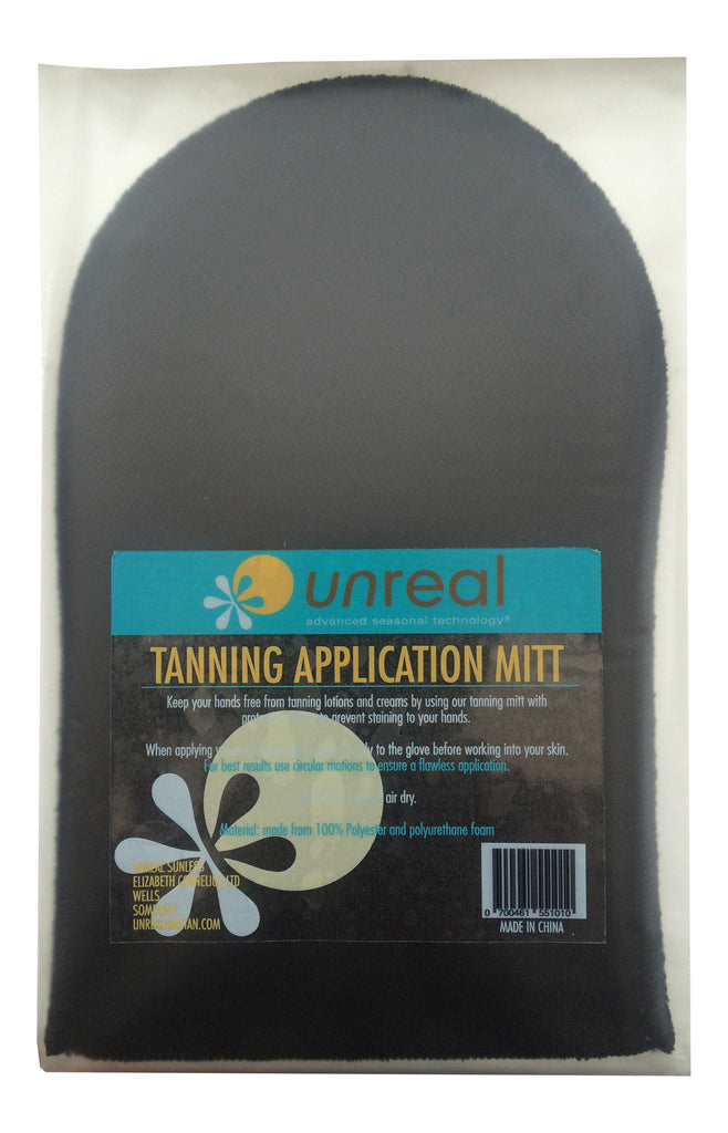 Unreal Tanning Mitt, Washable & Re-Usable - Unreal Sunless Tanning
