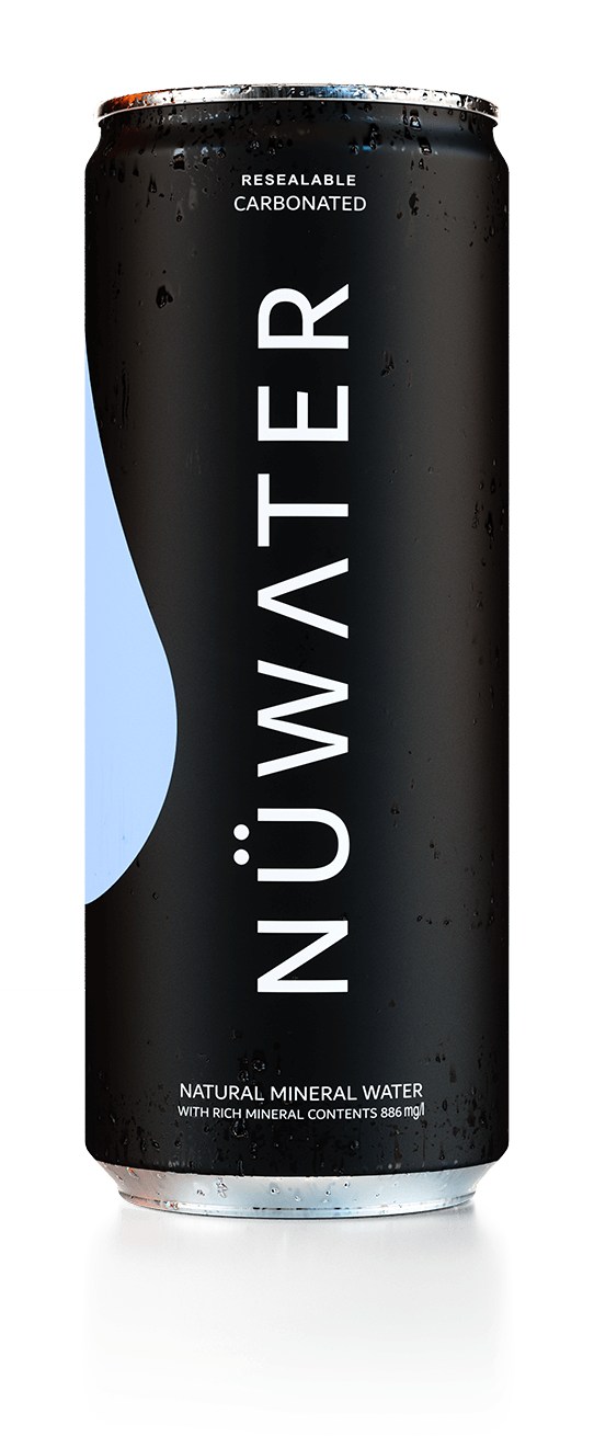Sparkling Mineral Water | NUWATER