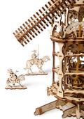 3D Wood Tower Windmill 3D wood puzzles / models UGears