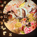 This Land Circular Bird Premium Jigsaw Puzzle - 263 whimsical star-shaped pieces Geometric Jigsaw Puzzles Starz Puzzles