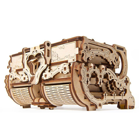 UGears Antique Box 3D wood puzzles / models UGears