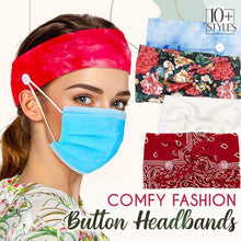 Load image into Gallery viewer, Comfy Twist Button Headbands (Set of 2)