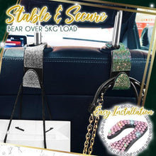 Load image into Gallery viewer, Glam Sparkle Car Backseat Hooks