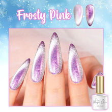 Load image into Gallery viewer, Winter Glow Magnetic Nail Polish