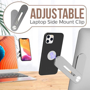 Adjustable Laptop Side Mount Clip