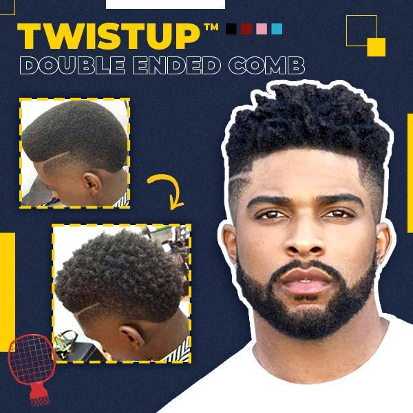 TwistUp™ Double Ended Comb