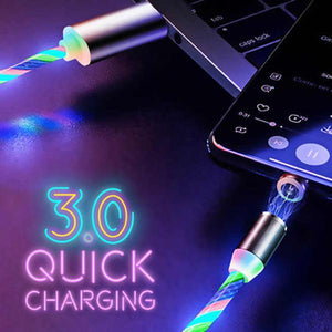 ⭐️Limited Quantities⭐️ Glowing LED Magnetic Charging Cable ✨50% OFF✨