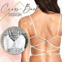 Load image into Gallery viewer, CrissX™ Back Lace Bralette