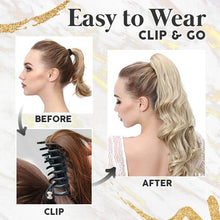 Load image into Gallery viewer, Pump-Hair™ Clip In Wavy Ponytail