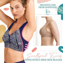 Load image into Gallery viewer, CozyFit™ Scalloped Trims Wireless Plunge Bra