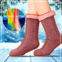Load image into Gallery viewer, ThermoHeat Fleecy Non-Slip Socks (50% OFF!)