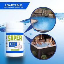Load image into Gallery viewer, Super Pool Cleaning Tablet (100 tablets)