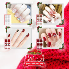 Load image into Gallery viewer, Nailtural™ Christmas Nail Art Decals (Set of 4)