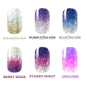 NailIt™ Glitter Ombre Sticker (14pcs)