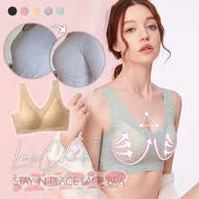 Load image into Gallery viewer, LaxChic™ Stay-In-Place Lace Bra
