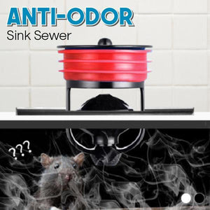 Anti-Odor Sink Sewer