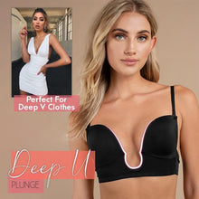 Load image into Gallery viewer, LaxChic™ U-Plunge Low Back Bra