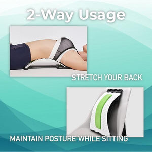 Spinally™ Back Massaging Stretcher