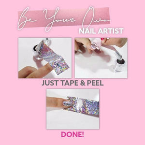 ☀️SUNDAY SPECIAL SALES☀️💅NailIt™💅 Metallic Transfer Foil Set❤️❤️