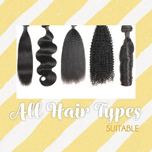 Hairdrobe™ Fluffy Hair Extension Wrap