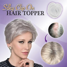 Load image into Gallery viewer, 🔥🔥 24-HOUR FACTORY OUTLET SALE - Save 60% 🔥🔥✨ Natural Clip-On Hair Topper ✨