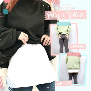 Winter Layered Fake Inner Top