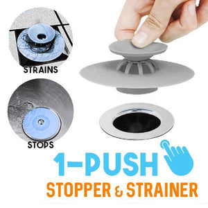 1-Push Stopper & Strainer