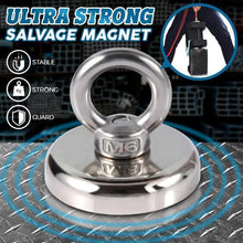 Load image into Gallery viewer, Ultra Strong Salvage Magnet