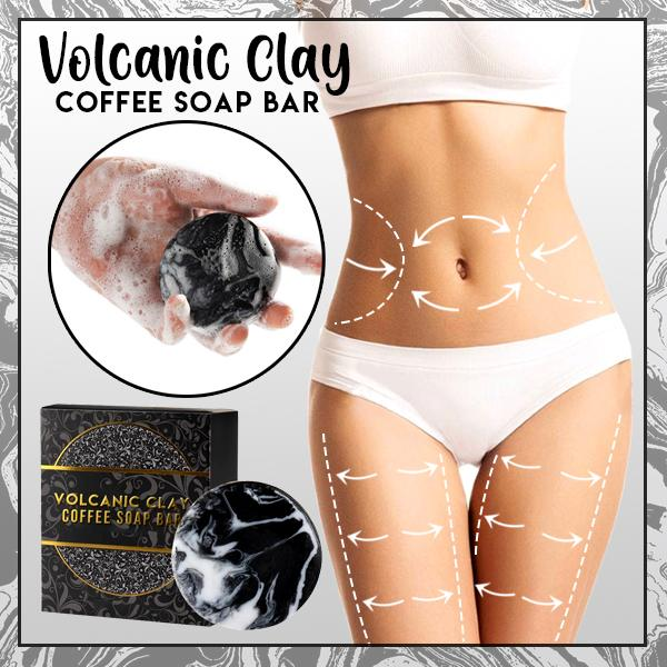 Volcanic Clay Coffee Soap Bar