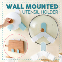 Load image into Gallery viewer, Wall Mounted Utensil Holder