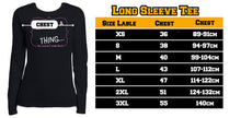 Load image into Gallery viewer, It's A Thing Long Sleeve Tee Crown harmoninie